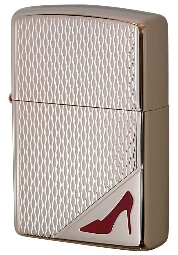 Zippo ジッポー RED High heels レッドハイヒール RP zippo ジッポ ライター オプション購入で名入れ可