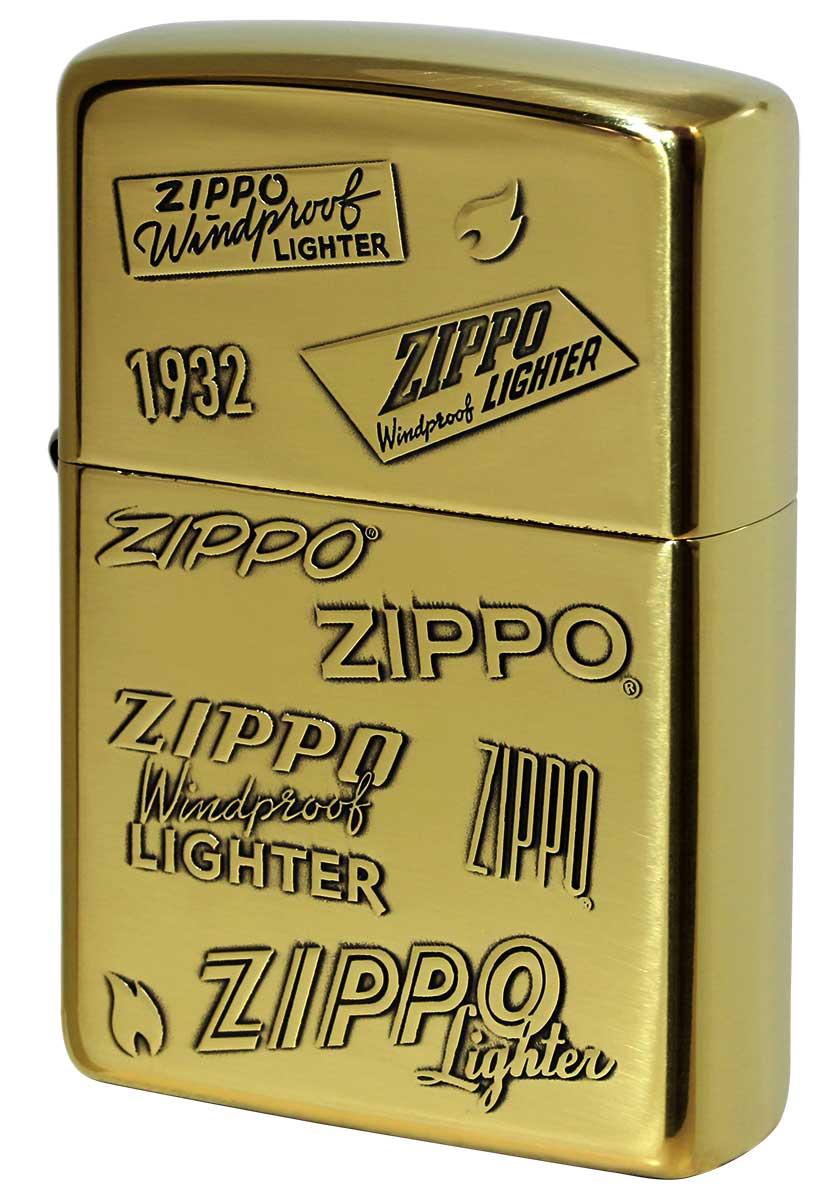 Zippo ジッポー 定番 ZIPPO LOGO ジッポー ロゴ 2BI-ZLOGO zippo ジッポ ライター オプション購入で名入れ可
