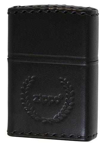 Zippo ジッポー REAL LEATHER 本革巻き B-7 zippo ジッポライター オプション購入で名入れ可