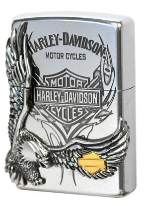 日本限定Zippo Harley Davidson ハーレーダビッドソン HDP-16 zippo ジッポライター オプション購入で名入れ可