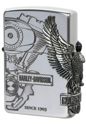 日本限定Zippo Harley Davidson ハーレーダビッドソン HDP-03 zippo ジッポライター オプション購入で名入れ可