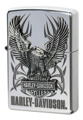 日本限定Zippo Harley Davidson ハーレーダビッドソン HDP-07ビッグメタル zippo ジッポライター オプション購入で名入れ可