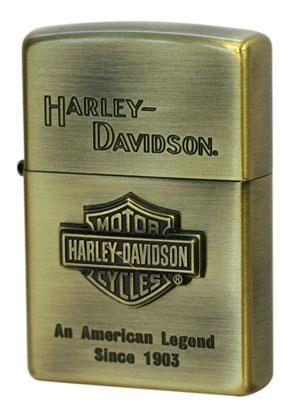 日本限定Zippo Harley Davidson ハーレーダビッドソン HDP-11エスメタル zippo ジッポライター オプション購入で名入れ可