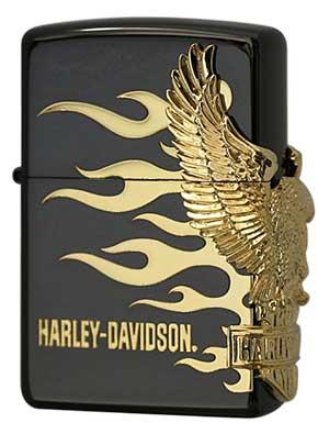 日本限定Zippo Harley Davidson ハーレーダビッドソン HDP-01 zippo ジッポライター オプション購入で名入れ可