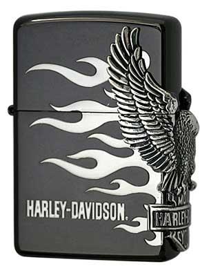 日本限定Zippo Harley Davidson ハーレーダビッドソン HDP-02 zippo ジッポライター オプション購入で名入れ可