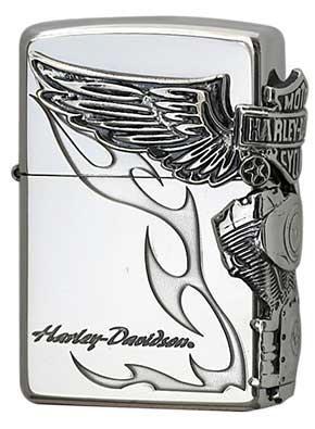 日本限定Zippo Harley Davidson ハーレーダビッドソン HDP-26 zippo ジッポライター オプション購入で名入れ可