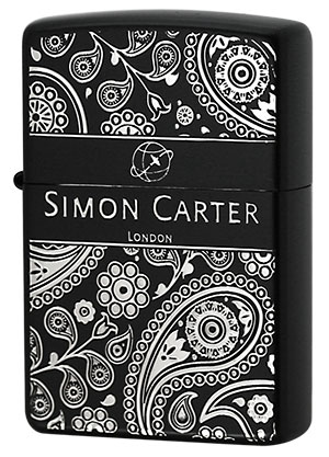 Zippo ジッポー Simon Carter サイモン・カーター SCP-017 zippo ジッポライター オプション購入で名入れ可
