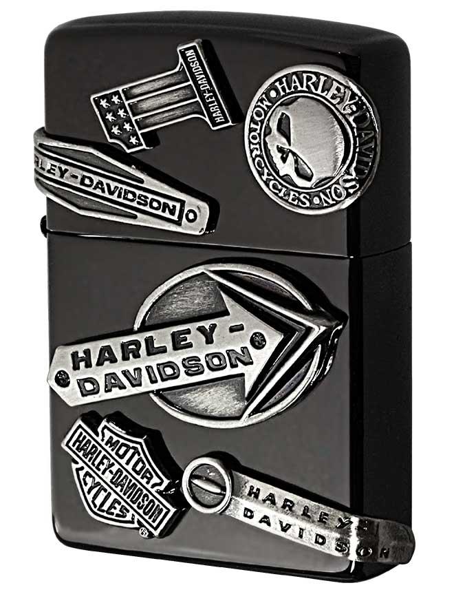 Zippo ジッポー 日本限定Zippo Harley Davidson ハーレーダビッドソン メイクメタル HDP-62 zippo ジッポ ライター オプション購入で名入れ可