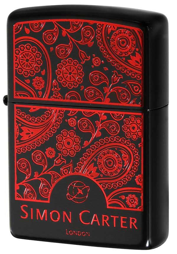 Zippo ジッポー SIMON CARTER サイモン カーター ペイズリーフレーム-IR ZP SCP-037 zippo ジッポ ライター オプション購入で名入れ可