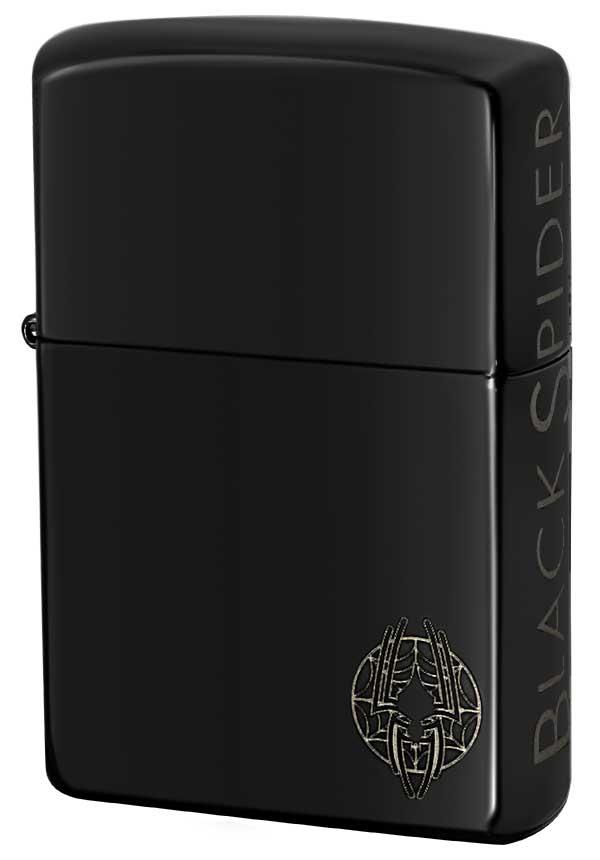 Zippo ジッポー BLACK SPIDER ブラックスパイダー エボニー zippo ジッポ ライター オプション購入で名入れ可