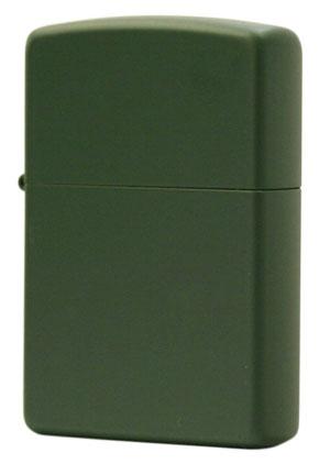 <title>Zippo ジッポ Zippoライター COATING コーティング系 低廉 マット カラー ジッポー マットカラー 221 Green Matte zippo ジッポライター オプション購入で名入れ可 メール便可</title>