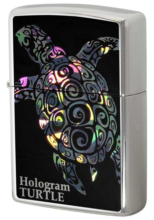 Zippo ジッポー Hologram ホログラム タートル zippo ジッポ ライター オプション購入で名入れ可