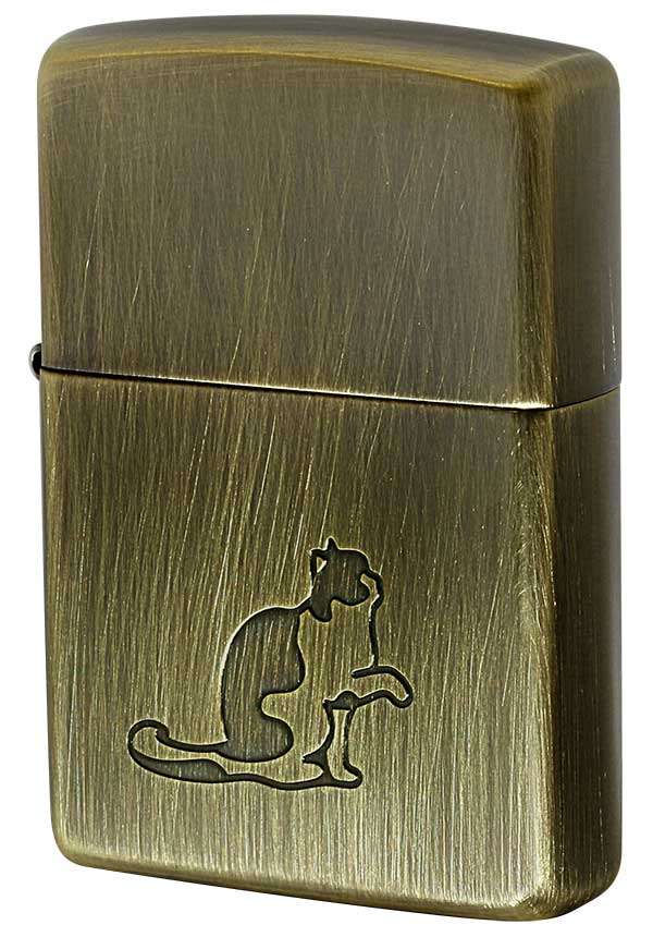 Zippo ジッポー Cat Pau キャットポー BS zippo ジッポ ライター オプション購入で名入れ可 メール便可
