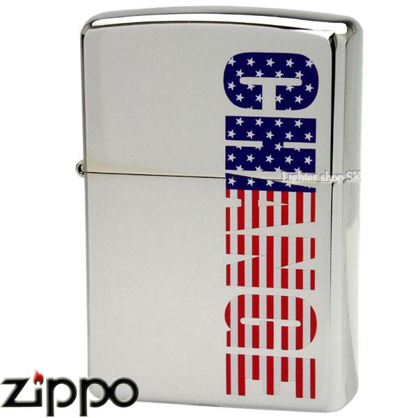 ZIPPO CHANGE USAフラッグカラー