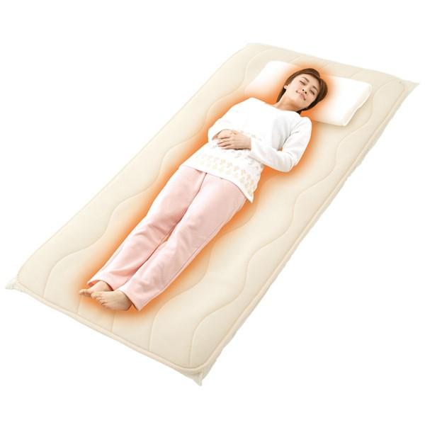 腰痛 肩こり 対策 マット 勝野式 医学博士の三層構造マット More sleep