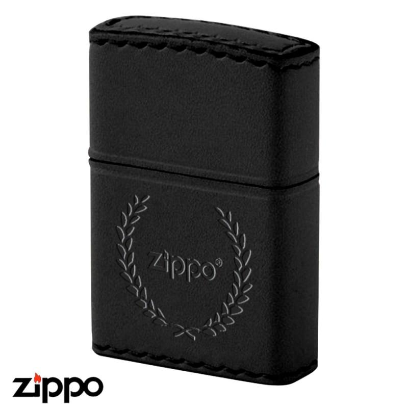 zippo 革巻き リアルレザー ハンドメイド B-7 本牛革ブラック ギフト プレゼント 贈り物 返品不可 レザー 喫煙具