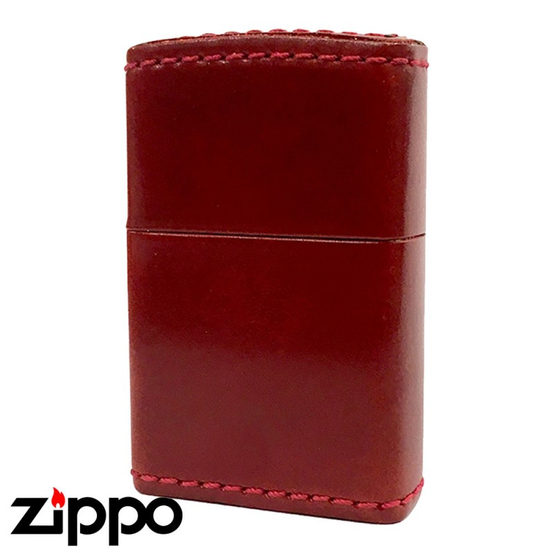 Zippo ジッポー Zippoライター ジッポライター 革巻き 200 オイルライター zippo 革巻き オイルドレザー 本馬革巻 オイルコードバン レッド