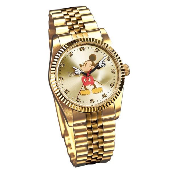 【Disneyディズニー】ミッキー 腕時計 限定生産 天然ダイヤ12石 チャーミングアイミッキーウォッチ 30682 ゴールド ギフト プレゼント 贈り物 人気