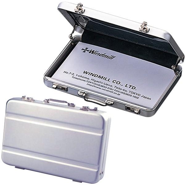 アルミ製トランクケース型カードケース 百貨店 カードケース 名刺ケース ミニトランク ブランド買うならブランドオフ 名刺入れ ミニALトランクカードケース A101-1002 ギフト 人気 贈り物 Bタイプ プレゼント
