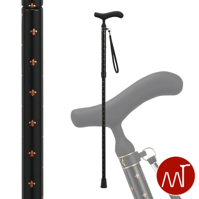 杖 折りたたみ 軽量 折りたたみ式杖 カーボン製 愛杖 C-76 ストラップ付き ステッキ 軽い 丈夫 カーボン杖