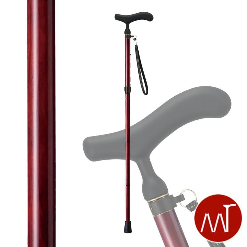 杖 折りたたみ 軽量 折りたたみ式杖 カーボン製 愛杖 C-79 ストラップ付き ステッキ 軽い 丈夫 カーボン杖