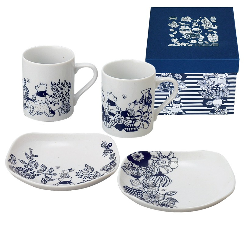 LUXURY DISNEY D-WP01 flower per (mono) introduction u0026 plate ...  sc 1 st  Rakuten & lighterya | Rakuten Global Market: Dinnerware Set Disney Winnie ...