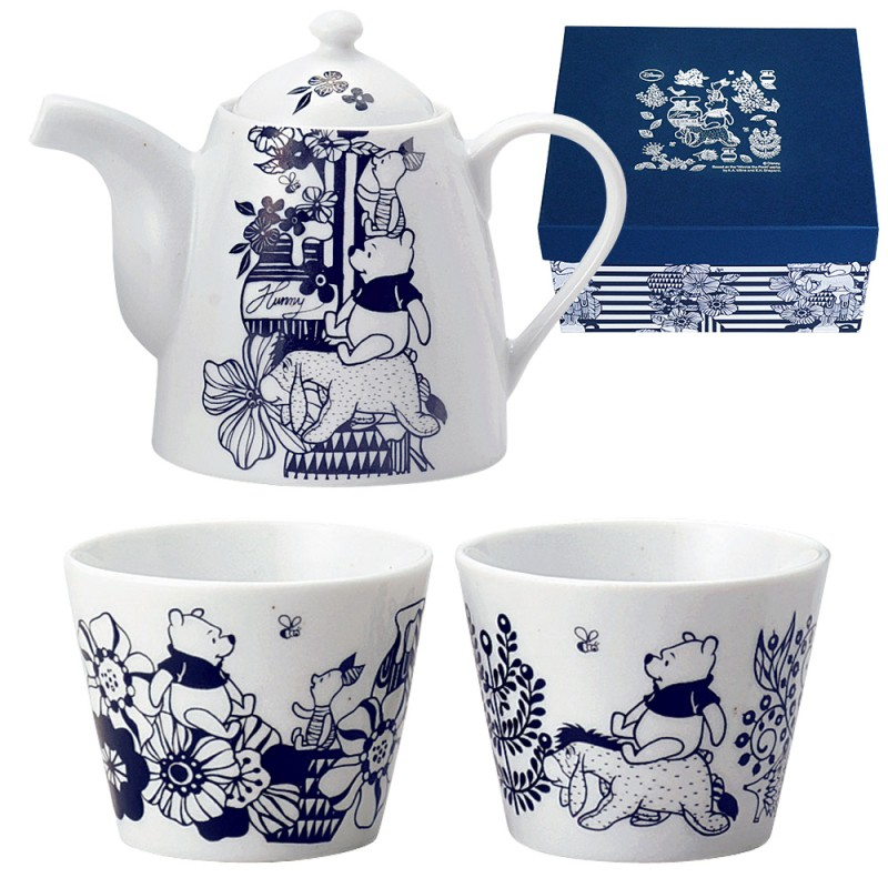 LUXURY DISNEY D-WP01 flower Pooh (thing) pair tea set 24733  sc 1 st  Rakuten & lighterya | Rakuten Global Market: General store Disney tableware ...