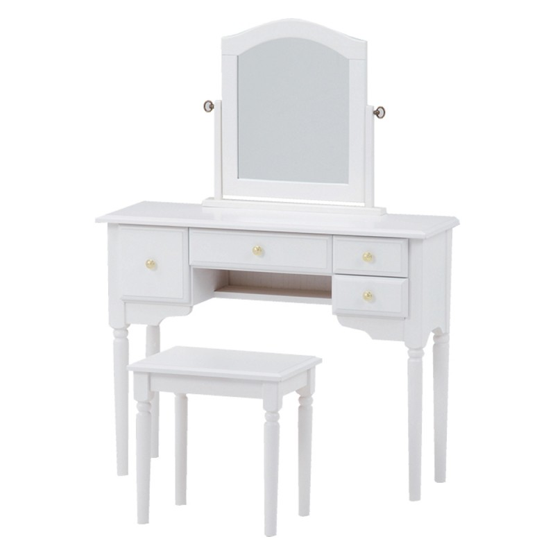 Dresser Set Md 6545wh S Wood Products