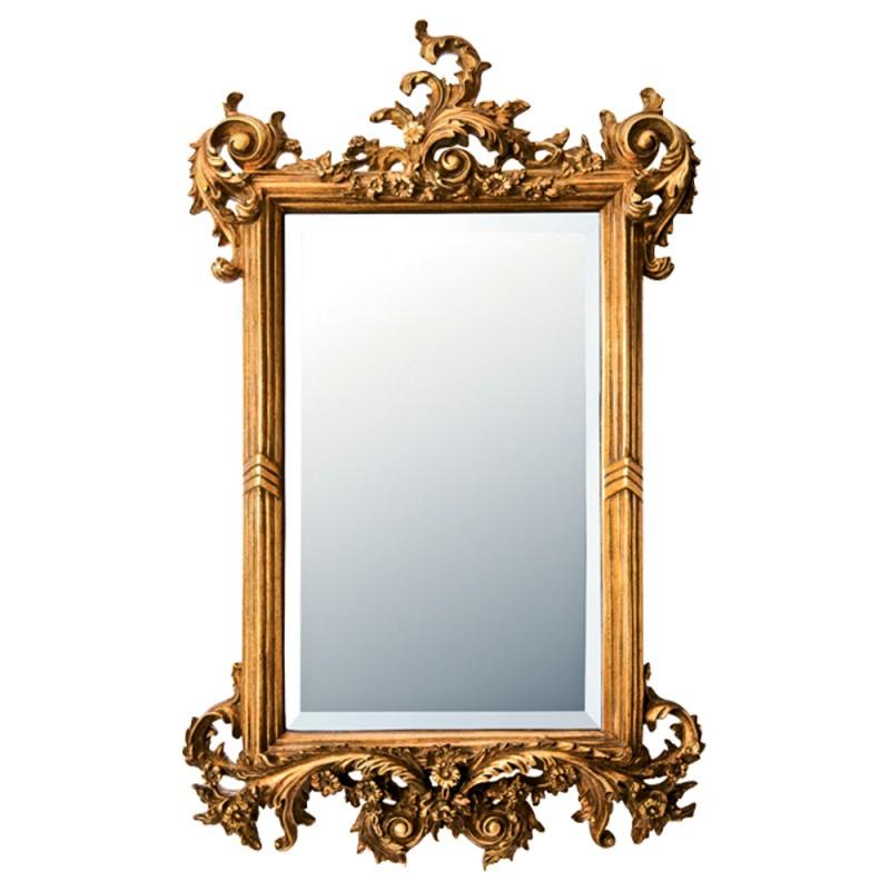 送料無料(北海道・沖縄・離島除く) 鏡 壁掛け ミラー ウォールミラー グレース アート ミラー フォリッジ アンティークゴールド GM-15012 鏡 壁掛け ミラー ウォールミラー エレガント 姫系 プリンセス