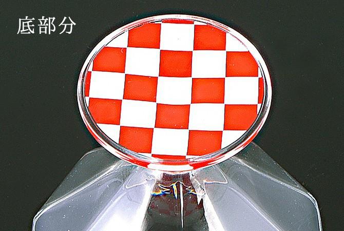 デザートグラス レッドクロス ZA-448291