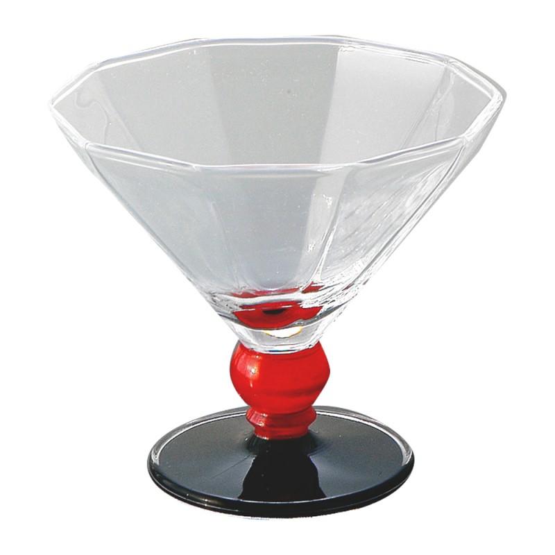 デザートグラス レッドボール ZA-448314
