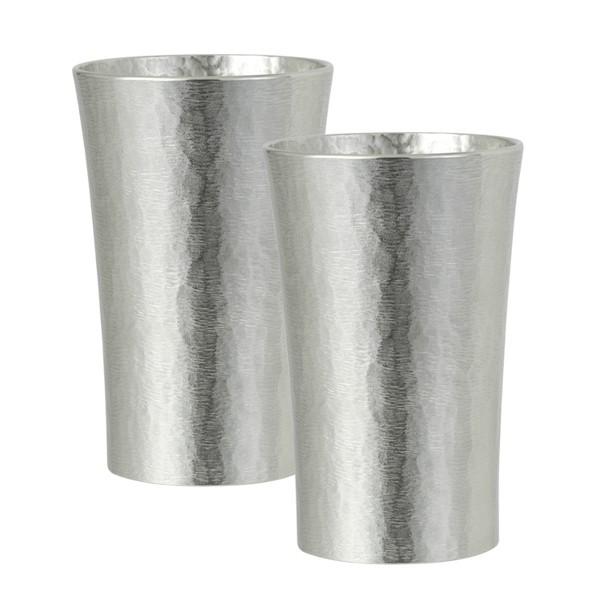 タンブラー 保冷 コップ カップ 錫 酒器 シルキーシリーズ タンブラー スタンダードペア 200ml 16-1-2 ギフト プレゼント 贈り物 返品不可 記念品