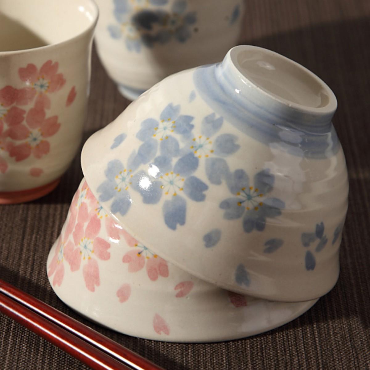 茶碗 お茶碗 軽い 飯碗 桜 さくら サクラ おしゃれ 日本製 なごみ桜 軽い茶碗
