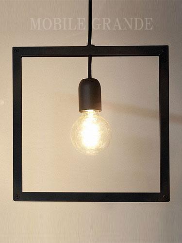 ペンダントライト FRAME LIGHT タイプI 電球別 0003-li-fli