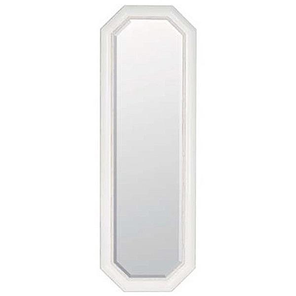 ウォールミラー ホワイト  0129-mr-3176a-pw