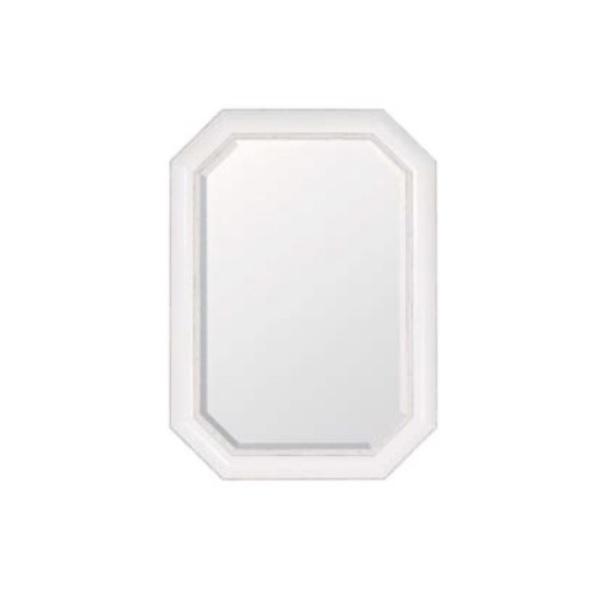 【店内全品ポイント10倍】【SALE 10%OFF】ウォールミラー ホワイト  0129-mr-3176b-pw