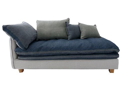 ソファ ソファー リビング カウチソファ コーナーソファ カバーリング ファブリック  Mコレクション クッション付きカバーリングソファ FUTON SOFA グレー コーナータイプ 向かって右側 0142-sf-mg40-couch-l