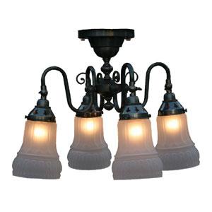 サンヨウ クラシックスタイルシャンデリア LED電球対応 0147-li-fc-125a4-323
