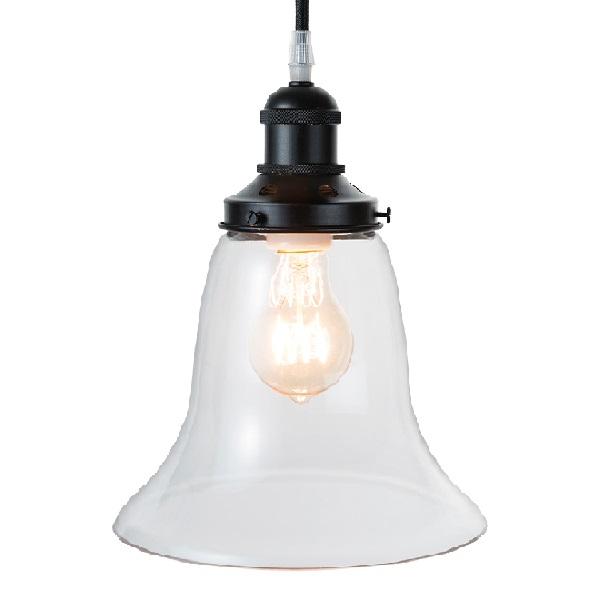 【店内全品ポイント10倍】【送料無料】ペンダントランプ Pendant Lamp LED電球  0202-li-gb-002-1-bk-l