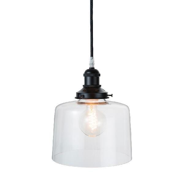 【店内全品ポイント10倍】【送料無料】ペンダントランプ Pendant Lamp LED電球 0202-li-gb-003-1-bk-l