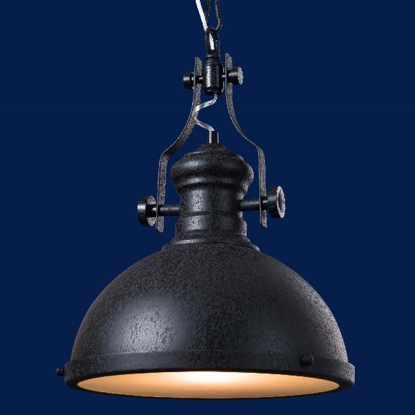 ペンダントランプ Pendant Lamp 白熱球  0202-li-ind-003-1-bk