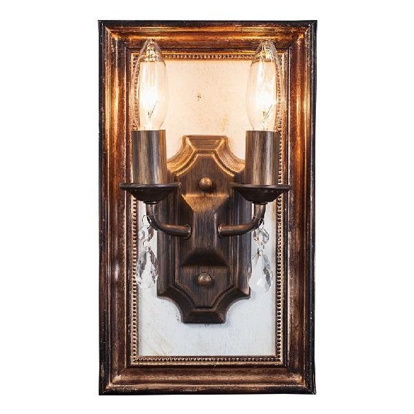 【1000円OFFクーポン配布中】【送料無料】ウォールフレームランプ Wall Frame Lamp 白熱球  0202-li-ob-080-2w