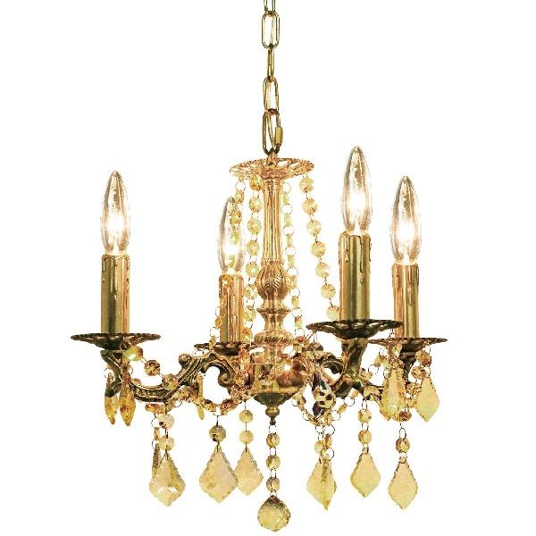 ブラスシャンデリア Brass Chandelier 白熱球  0202-li-onb-002-4b