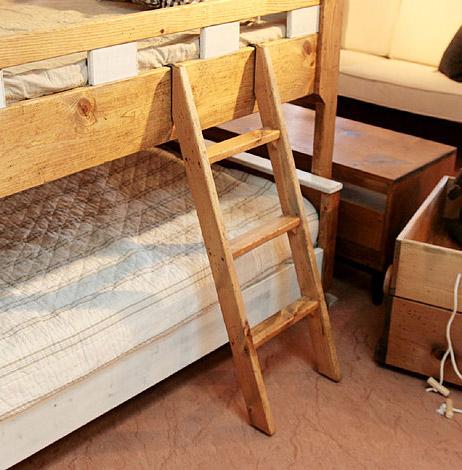 国産オリジナルオーダー家具 Rustic 2段ベッドはしご単品 0220-bd-RT-602