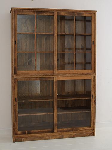 国産オリジナルオーダー家具 Rustic Once キッチンキャビネット パイン材オーダー家具シリーズ 0220-cb-P202