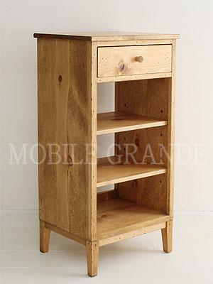 国産オリジナルオーダー家具 Rustic Once ナローシェルフパイン材オーダー家具シリーズ  0220-cw-P308