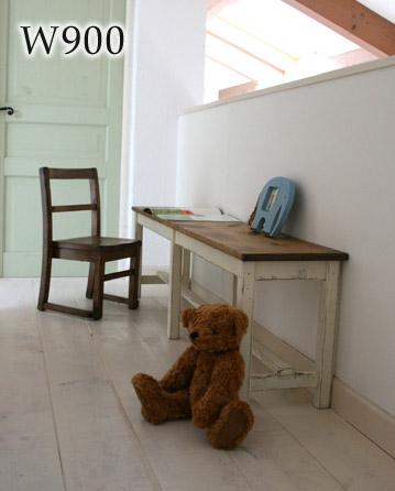 国産オリジナルオーダー家具 Rustic ロングベンチ 900 ラスティックパイン 0220-ch-RT-304-90