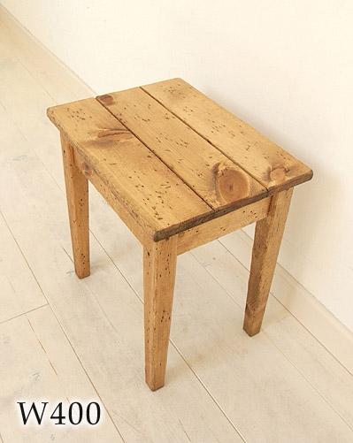 【店内全品ポイント10倍】国産オリジナルオーダー家具 Rustic スツール フォトスツール(M) ラスティックパイン0220-ch-RT-307-M