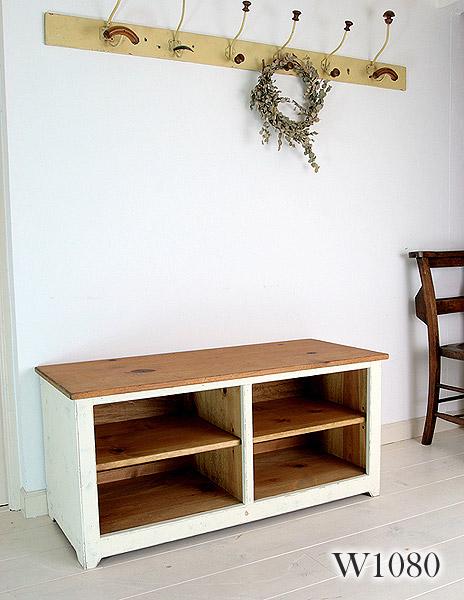 国産オリジナルオーダー家具 Rustic オープンテレビボード ラスティックパイン オープンテレビキャビネット 1080 0220-tv-RT-500-108