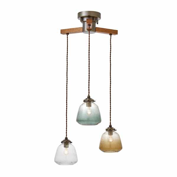 【店内全品ポイント10倍】【送料無料】Faget -dangle 3- [ファジェ -ダングル 3-] LED電球(小形LED電球(電球色))×3付  0252-li-lt-3130